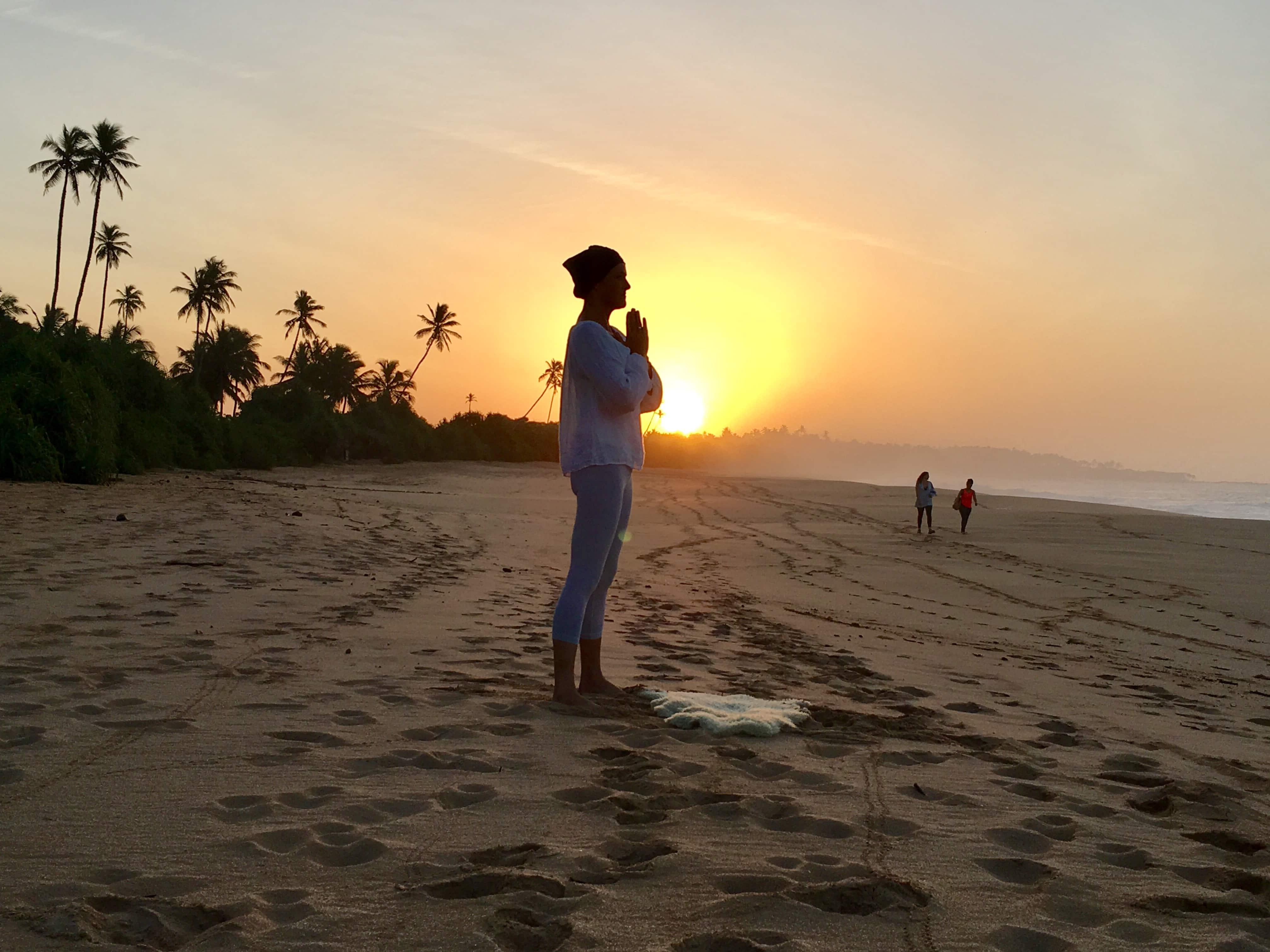 sun and prayer