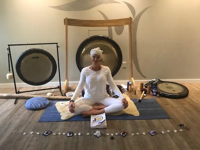mountain sound healing gong